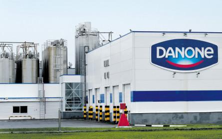 Danone erzielt Umsatzplus