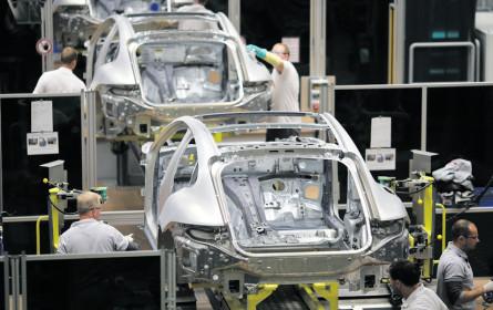 Deutsche Autoindustrie wächst kaum noch