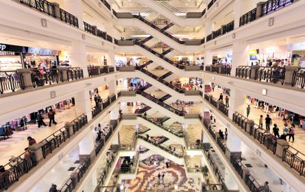 Österreichs Match der Shoppingcenter