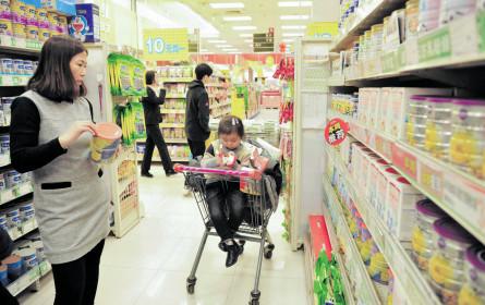 Spezialprodukte boomen im Importland China