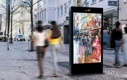 Epamedia: digitales Villach
