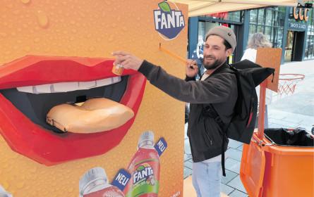 Fun mit Fanta für unterwegs