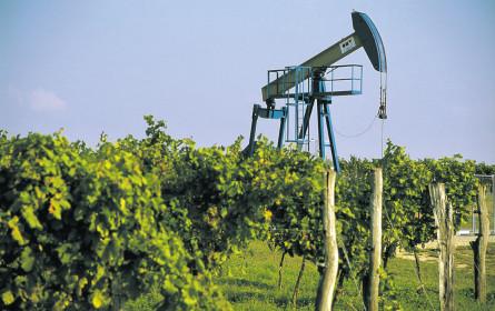 Weniger Öl und Gas