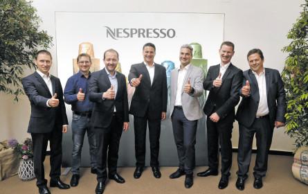 Nespresso feiert zehn Jahre Kapselrecycling