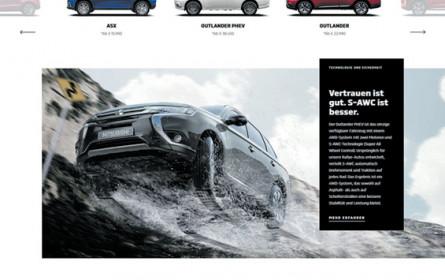 Mitsubishi hat neue Website