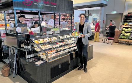 EatHappy setzt auf Sushi im Supermarkt