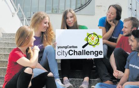 cityChallenge der youngCaritas