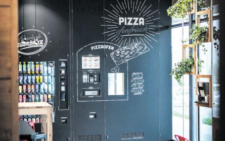 24 Stunden am Tag Pizza essen mit BistroBox