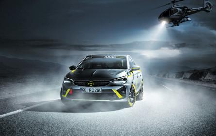 Opel präsentiert elektrisches Rallyeauto