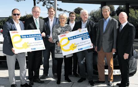 Niederösterreich: Top E-Autohäuser prämiert