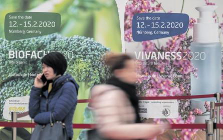 Mehr Raum für Bio: Weltleitmesse Biofach
