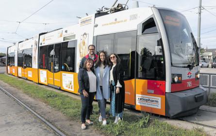 ratiopharm fährt Straßenbahn