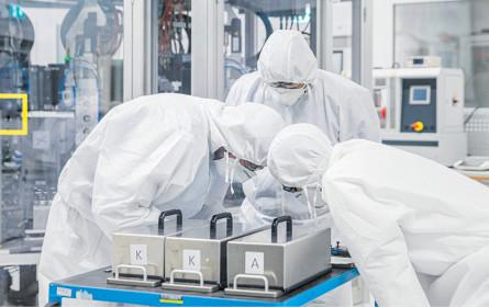 Volkswagen startet Batteriezellen-Fertigung