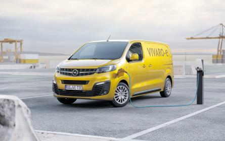 Opel Vivaro wird elektrisch