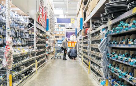 Umsatzplus für die Baumarktbranche