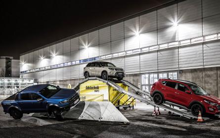 SUV-Experience der ÖAMTC Fahrtechnik auf der Vienna Auto Show