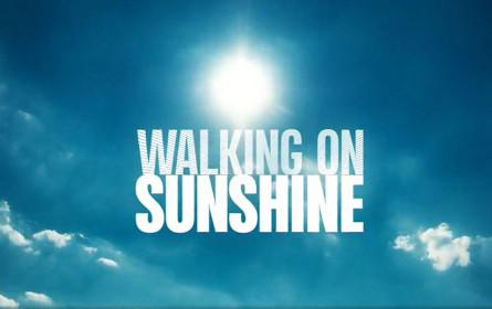 """Erfolgreicher Auftakt für """"Walking on Sunshine"""" und """"Wischen ist Macht"""""""