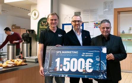 Erfolgreiche Spendenaktion für die Wärmestube der Caritas Linz