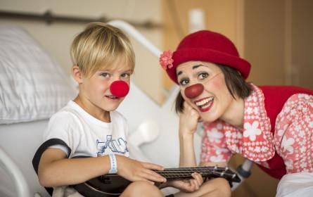 Unterstützung für die Clown-Künstler - Intersport Rote Nasen-Wochen 2020