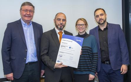 ISO 9001:2015-Zertifizierung für digiDruck.at GmbH und VSG Direktwerbung GmbH