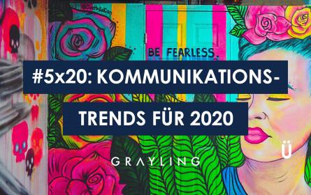 #5x20: Der große Grayling Trendbericht 2020