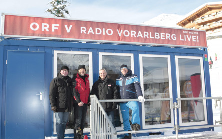 """ORF Radio Vorarlberg live vom """"Weißen Ring"""""""