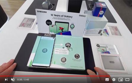 Samsung und Interactive Paper: Omnichannel-Kampagne mit Innovationsfaktor