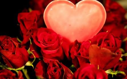 Valentinstag bringt deutschem Einzelhandel auch im Jahr 2020 gute Geschäfte