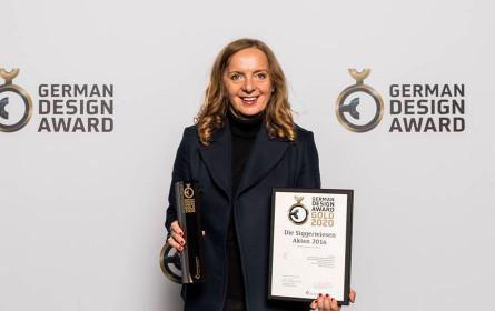 German Design Award 2020: Gold für Sinz