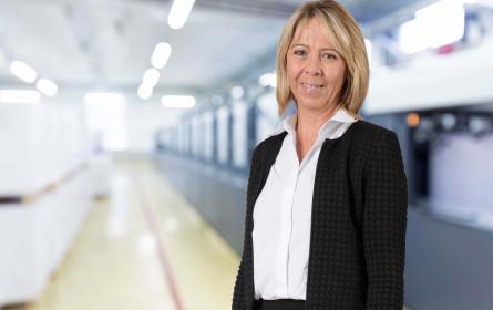 Martina Lechner ist neu im Team bei Samson Druck