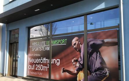 Absolute Teamsport eröffnet ersten Store in Österreich