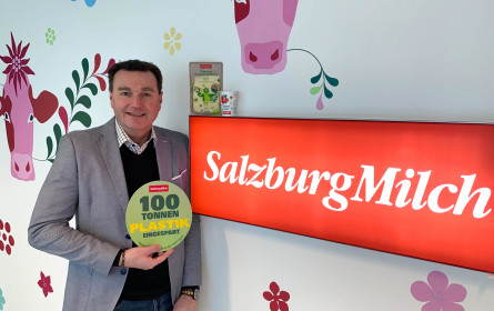 SalzburgMilch spart 100 Tonnen Plastik ein