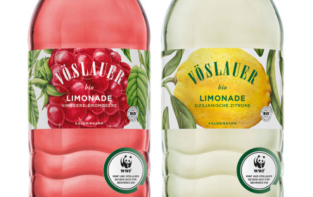Vöslauer präsentiert drei neue Limonaden