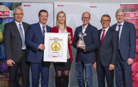 """Spar-Supermarkt Ohlsdorf mit """"Goldener Tanne"""" prämiert"""