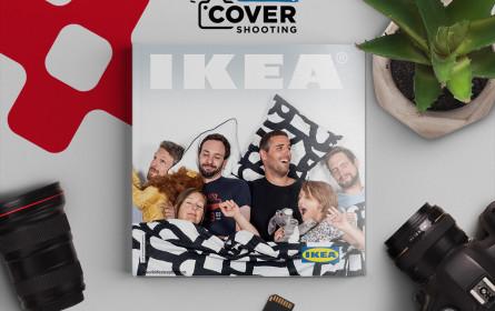 MMCAgentur digitalisiert das Ikea Katalog-Covershooting