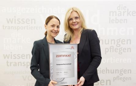 Transgourmet Österreich ist zertifizierter Leitbetrieb