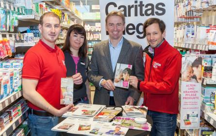 Bipa und Caritas unterstützen pflegebedürftige Menschen und Angehörige