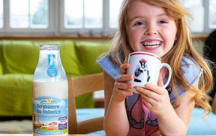 Spar Natur*pur Bio-Milch ab 2. März 2020 in der Mehrweg-Glasflasche