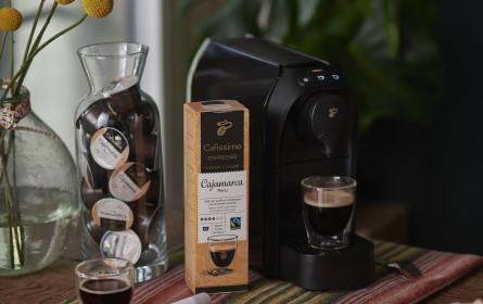 """Limitierte Kaffeespezialität """"Cajamarca Peru"""" von Tchibo"""