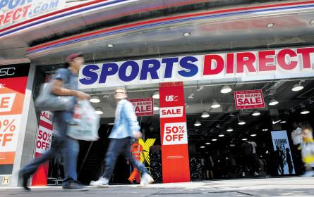 Österreich ist für Sports Direct weiterhin ein schwieriges Pflaster