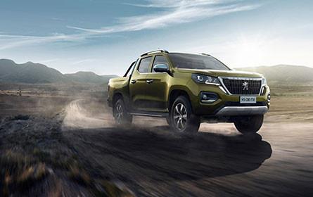 Peugeot zeigt neuen Pick-up