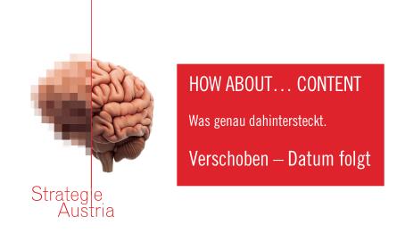 "Verschoben: Veranstaltung ""How about…Content?"""