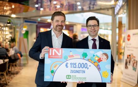 Interspar spendet SOS-Kinderdorf 115.000 Euro