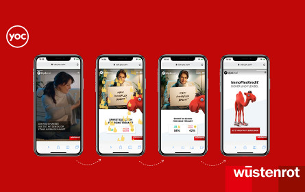 Wüstenrot und Wirz setzen auf das neue YOC Story Ad