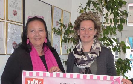 Kelly unterstützt Österreichische Krebshilfe