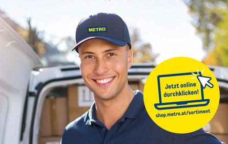 Metro bietet gratis Hauszustellung