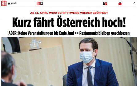 Coronavirus - Großes Medienecho für Österreichs Lockerungsmaßnahmen