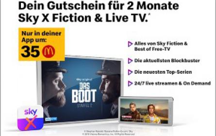 Zusammenstehen: Sky Österreich und McDonald's starten erneut Kooperation