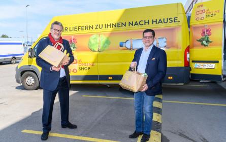 Billa und Stadt Wien schaffen Einkaufsservice für Menschen in Quarantäne und Risikogruppen