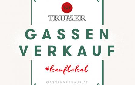 """Trumer Privatbrauerei initiiert neues Projekt """"Gassenverkauf"""""""